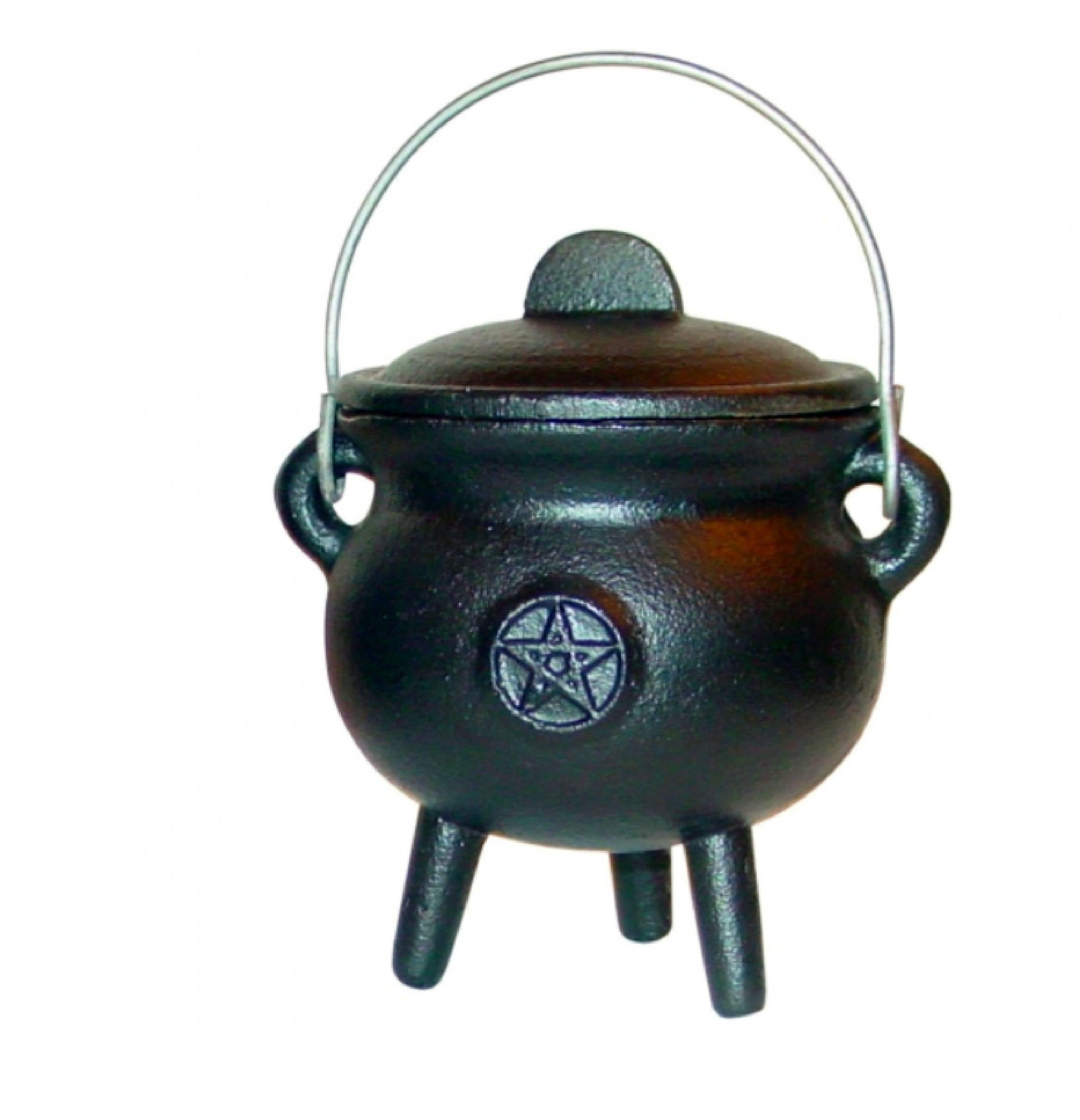 Pentacle Cauldron Black