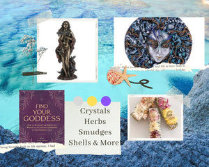 Sea Witch Altar Kit! Honor Aphrodite & Your Inner Goddess With The Custom Made To Order Mystery Witch Kit.