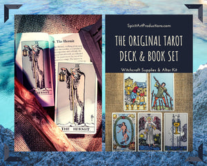 Original Tarot Deck & Book Set