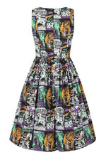 Be Afraid 50s Dress