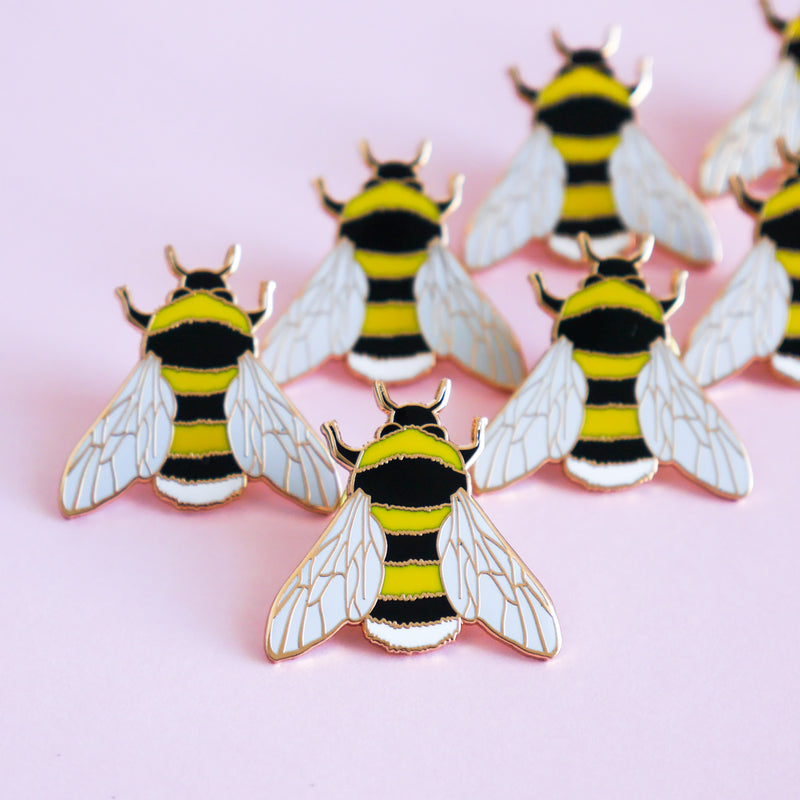 Bee Enamel Pin