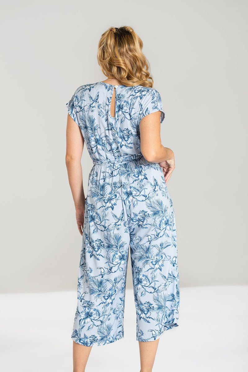 Blue Tropics Jumpsuit