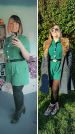 Pretty Playsuit in Green