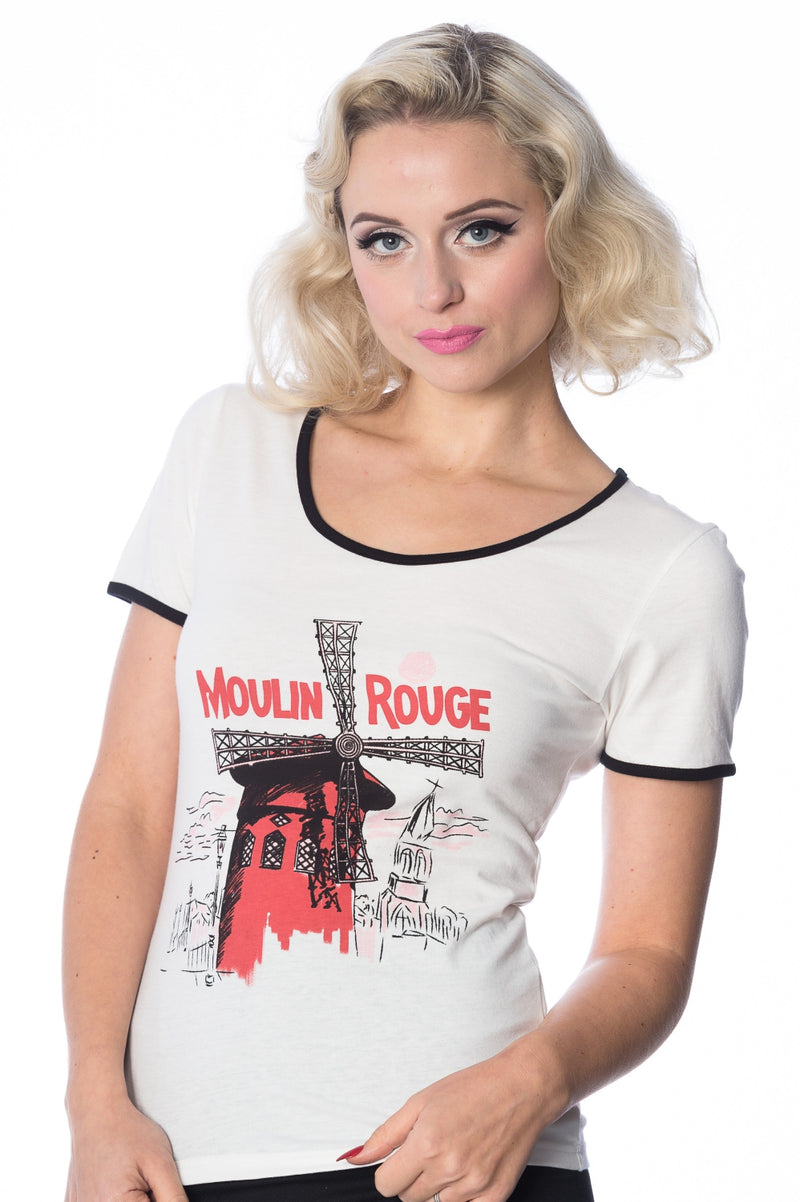 Moulin Rouge Retro Tee