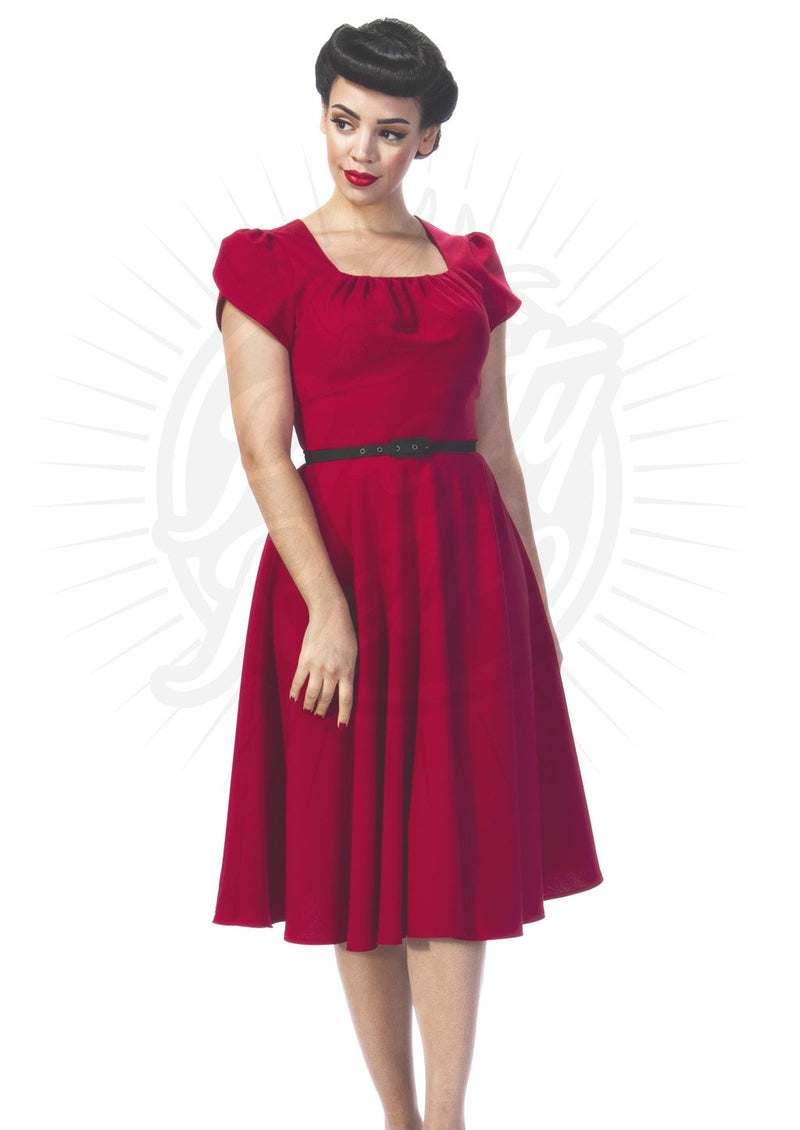 1950s Dancing Dress in Red