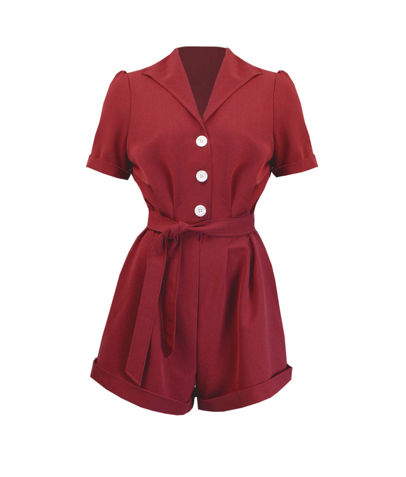 Pretty Playsuit in Red