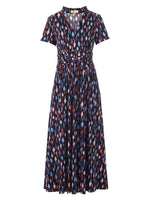 Retro Multi Print Dress