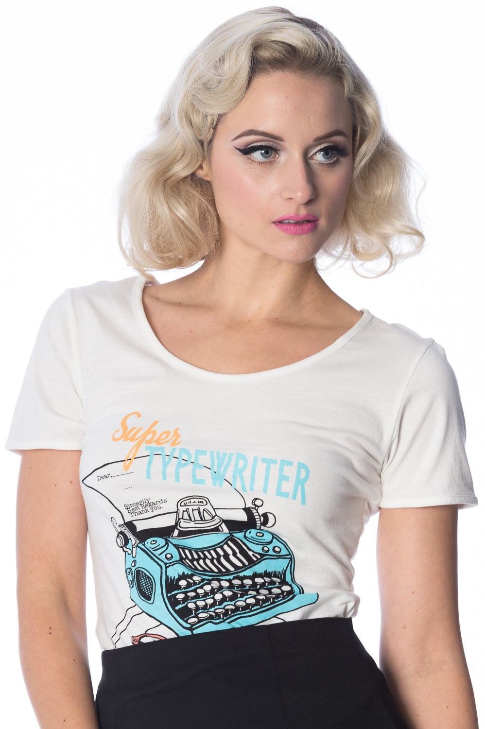 Typewriter Retro Tee