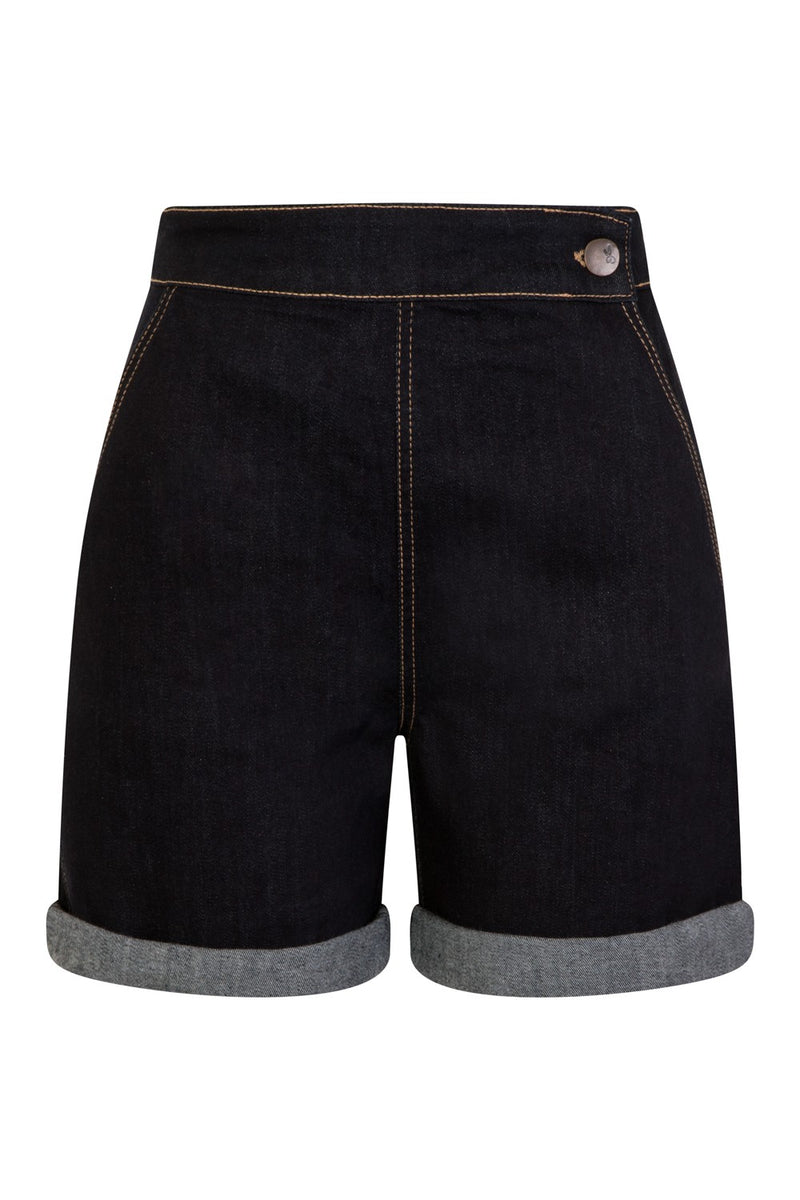 Yaz Retro Denim Shorts