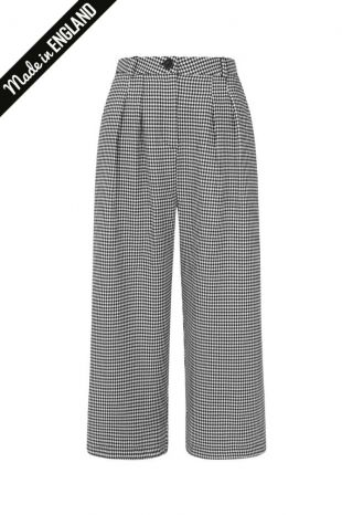 Riot Culottes in Dogtooth