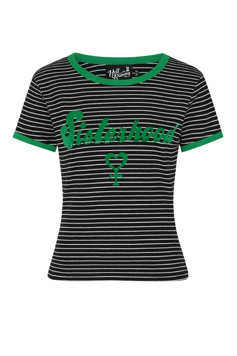 Sisterhood Tee in Green
