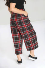 Riot Culottes in Red Tartan