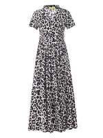 Retro Leopard Dress