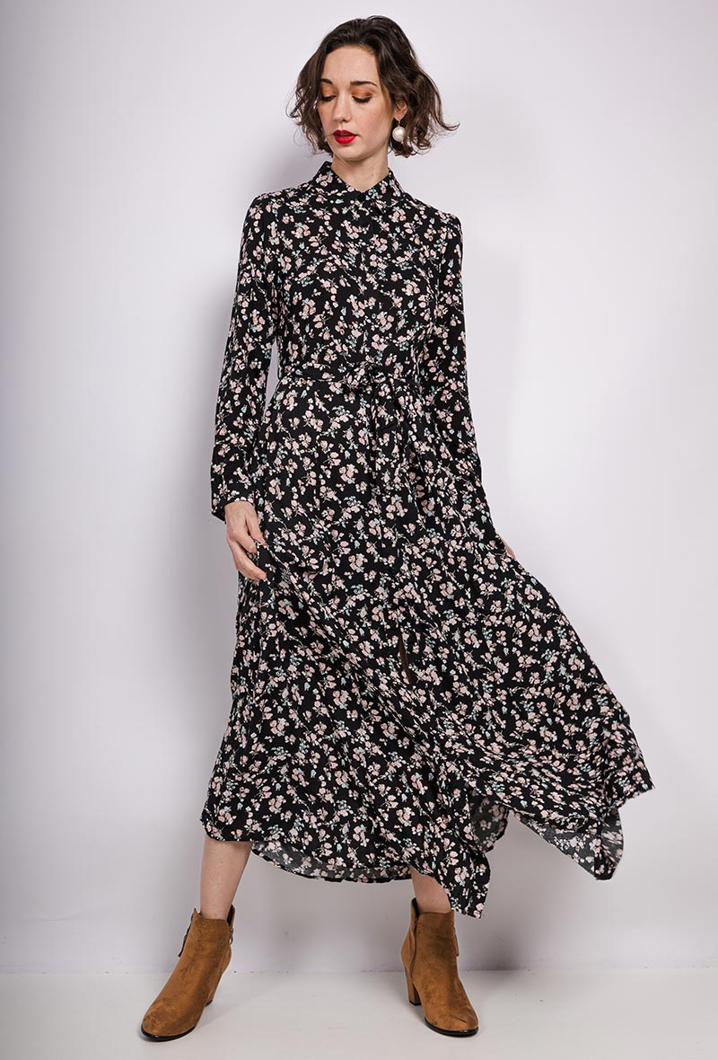 Maxi Shirt Dress Candyfloss