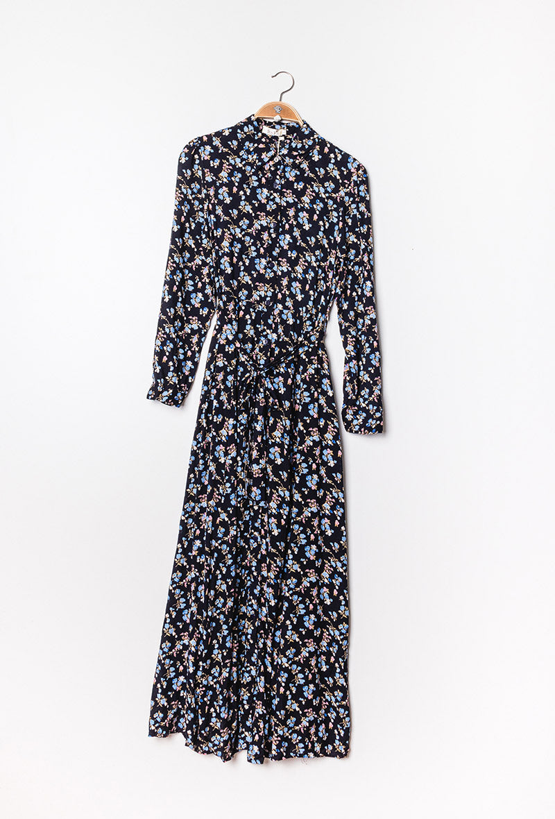 Maxi Shirt Dress Forget Me Not