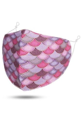 Pink Rainbow Fabric Face Mask