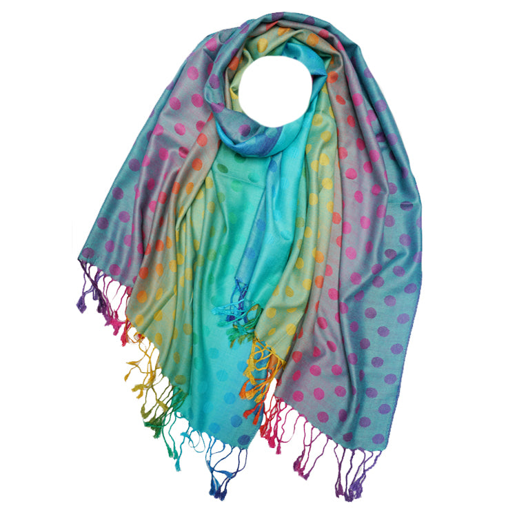 Rainbow Pashmina Purple
