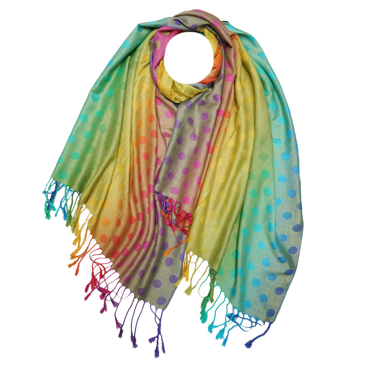 Rainbow Pashmina Yellow