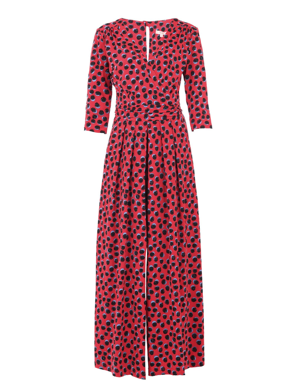 Ladybird Jumpsuit in Red