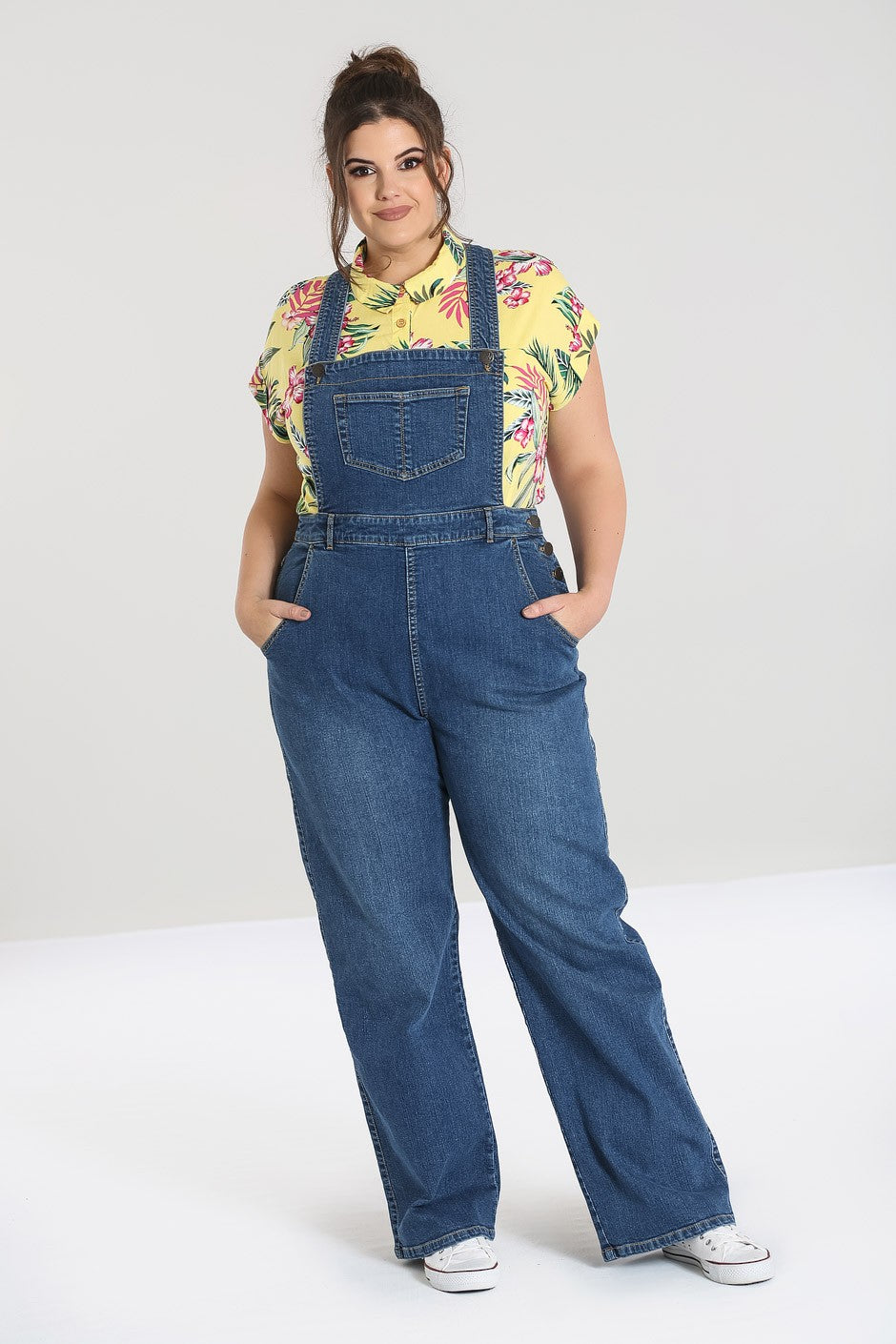 Retro Denim Dungarees