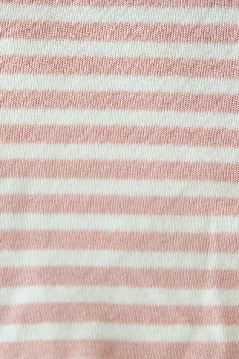 Sail Stripe Top in Blush Pink
