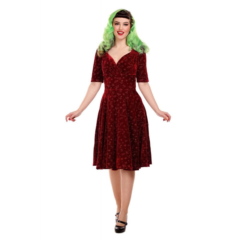 Sparkle Wine 1950s Vintage Dress