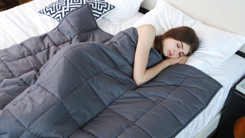 Therapeutic Weighted Blanket Sleep Quality