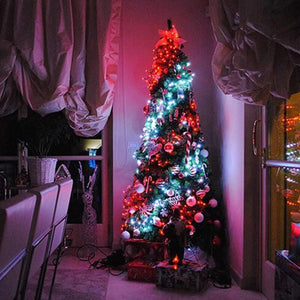 Smart App Controlled LED String Lights for Christmas Tree - Go to the Cupboard