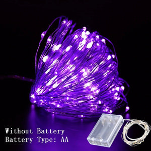 1M/2M/3M DIY String Lights Decorations (AA Batteries)