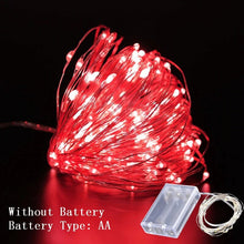 Load image into Gallery viewer, 1M/2M/3M DIY String Lights Decorations (AA Batteries)