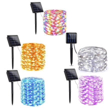 Load image into Gallery viewer, Solar Fairy String Lights - Go to the Cupboard
