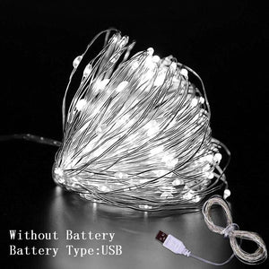 1M/2M/3M DIY String Lights Decorations (USB) - Go to the Cupboard