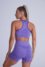 Excel Seamless Short Set - Periwinkle