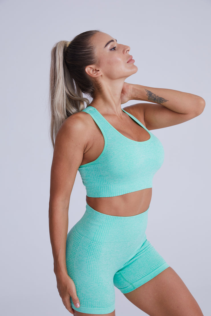 Excel Seamless Short Set - Green