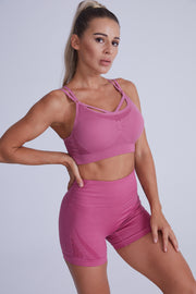 Force Contouring Short Set - Pink