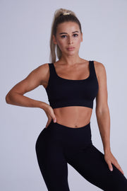 Ribbed Seamless Set - Black