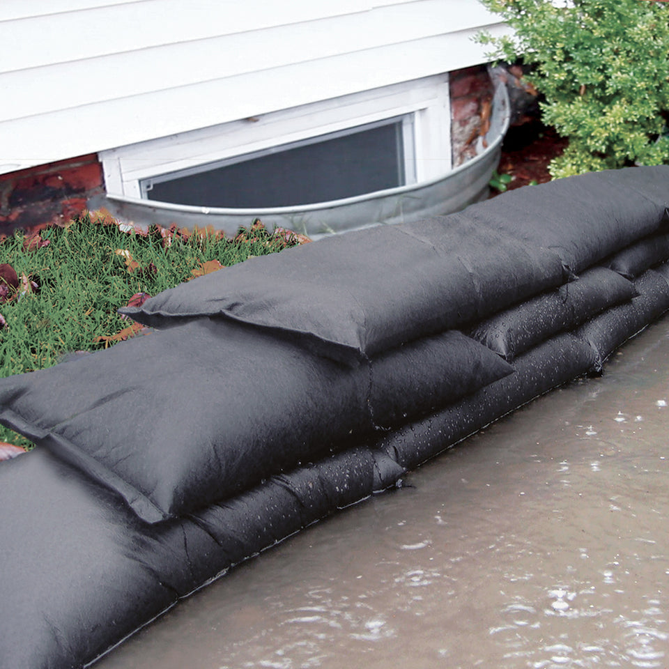 flood bags barriers