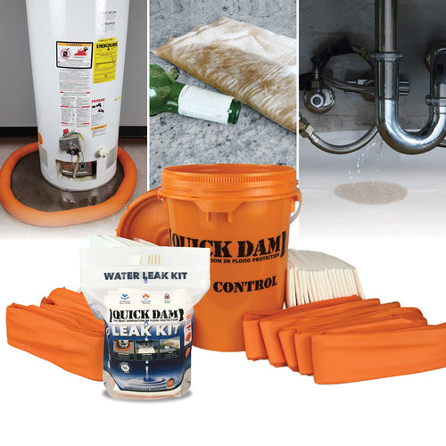 Indoor Flood Control Kits - Flood Bags and Barriers
