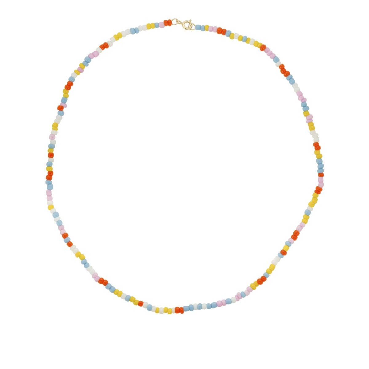Trendjuwelier Bemelmans - Anna+Nina Coloured Dream Necklace Goldplated