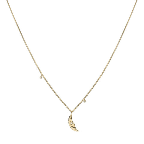 Trendjuwelier Bemelmans - Anna+Nina Moonlight Necklace Goldplated