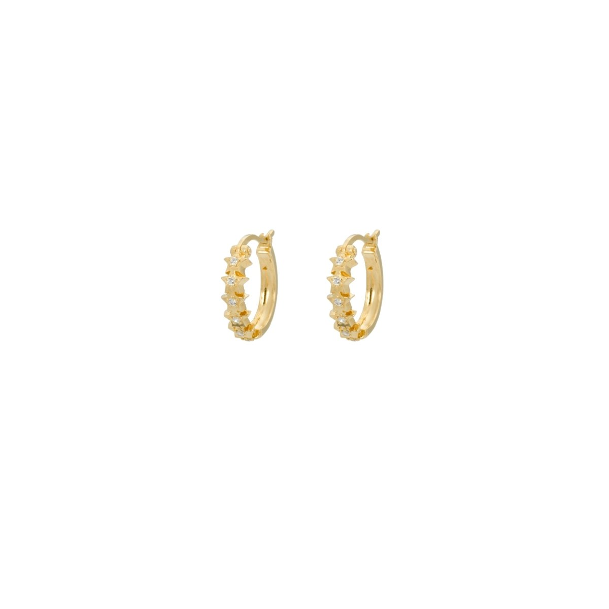 Trendjuwelier Bemelmans - Anna+Nina Starry Ring Earring Goldplated