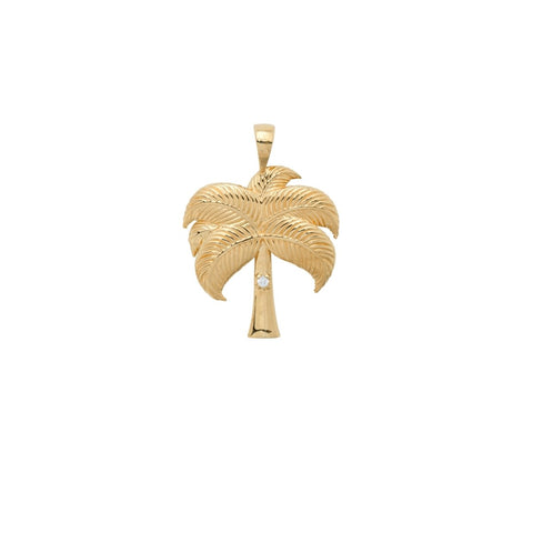 Trendjuwelier Bemelmans - Anna+Nina Twinkling Palm Necklace Charm Goldplated