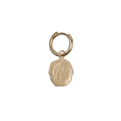 Trendjuwelier Bemelmans - Betty Bogaers Ten Cent Small Hoop Earring Gold Plated