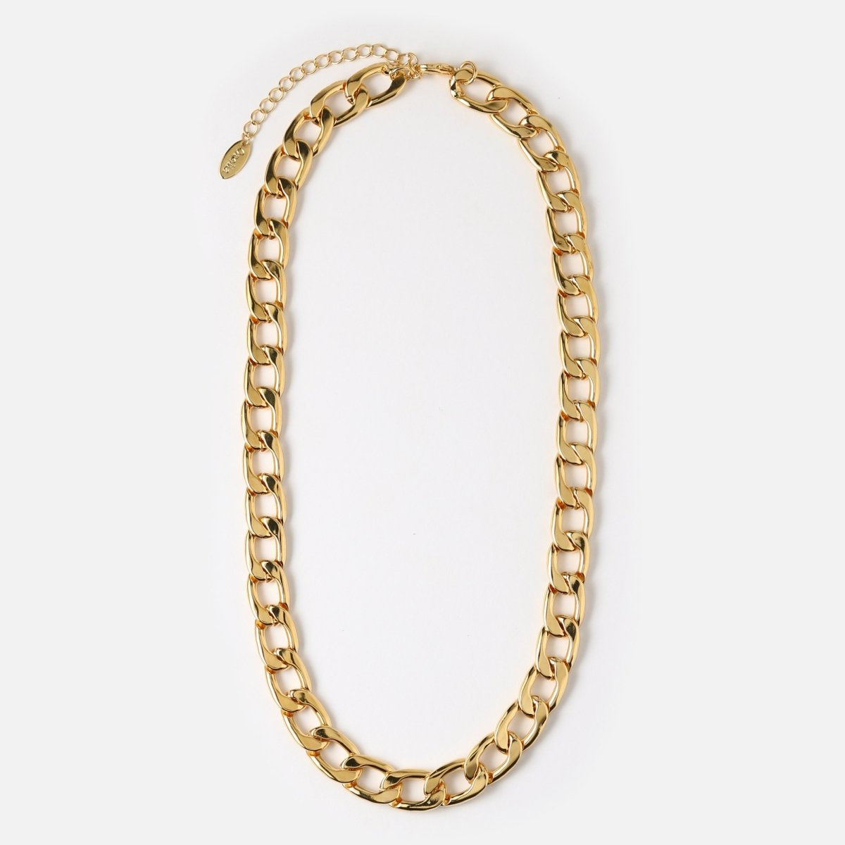 Trendjuwelier Bemelmans - Orelia Chunky Chain Necklace Goldplated