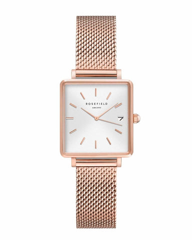 Trendjuwelier Bemelmans - Rosefield The Boxy White Rose gold