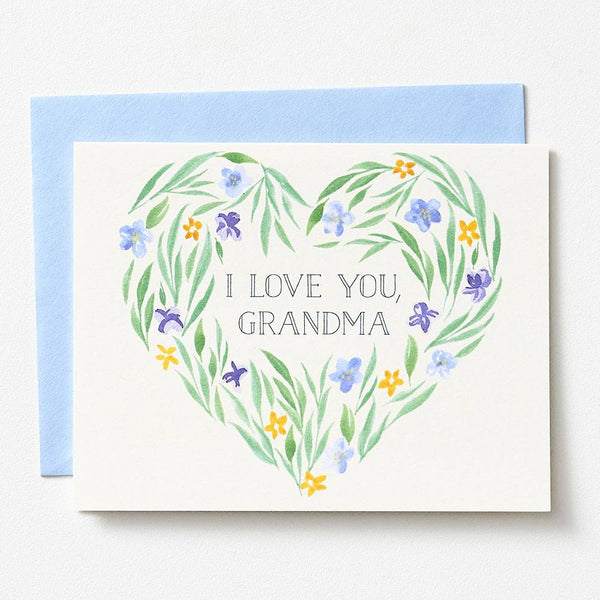 I Love You Grandma Mother's Day Card