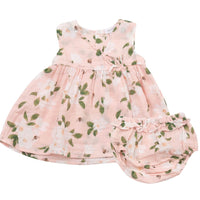 Magnolia Kimono Dress and Diaper Cover