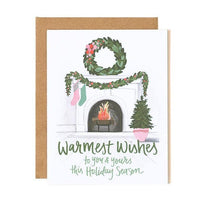 Warmest Wishes Holiday Card