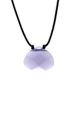Color Power Necklace -  Violet