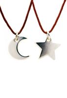Friendship Necklace - Moon To My Stars